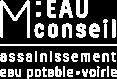 logo blanc m eau conseil